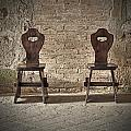 Two Wooden Chairs by Joana Kruse
