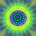 Tye Dye Eyeball by Bill Cannon