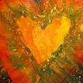 Tye Dye Heart by James Briones