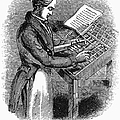 Typesetter, 19th Century by Granger