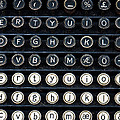 Typewriter Keyboard by Hakon Soreide