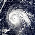 Typhoon Higos by Stocktrek Images
