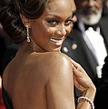 Tyra Banks At Arrivals For 58th Annual by Everett