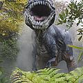 Tyrannosaurus by David Davis and Photo Researchers