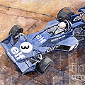 Tyrrell Ford 007 Jody Scheckter 1974 Swedish Gp by Yuriy Shevchuk