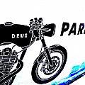 Ubud Motorbike Parking  by Funkpix Photo Hunter