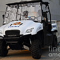 Uc Berkeley Campus Police Buggy  . 7d10184 by Wingsdomain Art and Photography