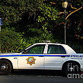 Uc Berkeley Campus Police Car  . 7d10178 by Wingsdomain Art and Photography