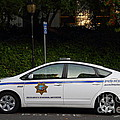 Uc Berkeley Campus Police Car  . 7d10181 by Wingsdomain Art and Photography