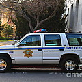 Uc Berkeley Campus Police Suv  . 7d10182 by Wingsdomain Art and Photography