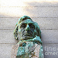 Uc Berkeley . Sather Tower . The Campanile . Clock Tower . Bust Of Abraham Lincoln . 7d10078 by Wingsdomain Art and Photography