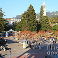 Uc Berkeley . Sproul Hall . Sproul Plaza . Sather Gate And Sather Tower Campanile . 7d10016 by Wingsdomain Art and Photography