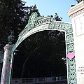 Uc Berkeley . Sproul Plaza . Sather Gate . 7d10035 by Wingsdomain Art and Photography