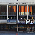 Uc Berkeley . Zellerbach Hall . 7d9989 by Wingsdomain Art and Photography