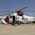 Uh-3h Sea King Helicopters Based by Stocktrek Images