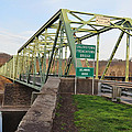 Uhlerstown Frenchtown Bridge by Bill Cannon