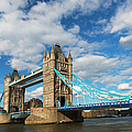 Uk, England, London, Tower Bridge by Tetra Images