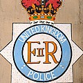 Uk Police Crest by Unknown
