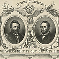 Ulyssess S Grant And Schuyler Colfax Republican Campaign Poster by International  Images