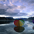 Umbrella Beach by Bob Christopher