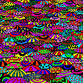 Umbrellas by Karen Elzinga