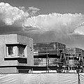 Under Construction Bw Palm Springs by William Dey