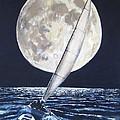 Under Full Sail..under Full Moon by Jack Skinner