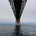 Under The Mackinac Bridge by Ronald Grogan