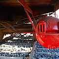 Under The Old Western Pacific Caboose Train . 7d10722 by Wingsdomain Art and Photography