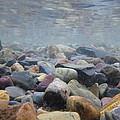 Under The Water In Glacier  by John Harrison