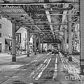 Under Wabash Avenue by David Bearden
