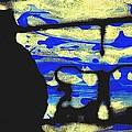 Underground - People Silhouette Serigraphic Arts by Arte Venezia