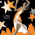 Underneath The Harlem Moon 2 by Mel Thompson