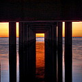 Underside Of The Pier by Pixel Perfect by Michael Moore