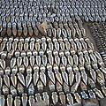 Unexploded Ordnance Lies In Storage by Stocktrek Images