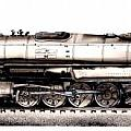 Union Pacific 4-8-8-4 Steam Engine Big Boy 4005 by J Vincent Scarpace