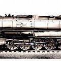 Union Pacific 4-8-8-4 Steam Engine Big Boy 4005 by J Vincent Scarpace
