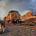 Union Pacific 6807 by Peter Tellone