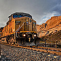 Union Pacific 6807 Wide Screen by Peter Tellone