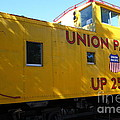 Union Pacific Caboose - 5d19205 by Wingsdomain Art and Photography