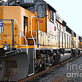Union Pacific Locomotive Trains . 7d10588 by Wingsdomain Art and Photography