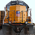 Union Pacific Locomotive Trains . 7d10589 by Wingsdomain Art and Photography
