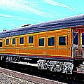Union Pacific Observation Car In Hdr by Nick Kloepping