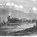 Union Pacific Station, 1869 by Granger