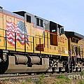 Union Pacific Train by Anjanette Douglas