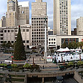 Union Square Sf by Ron Bissett