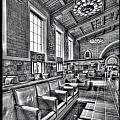 Union Station L.a. Seats 1 by Martin Fine