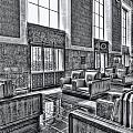 Union Station L.a. Seats 2 by Martin Fine