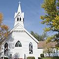 United Methodist Church Townsend Mt by Fran Riley