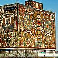 Universidad Nacional De Mexico - World's Largest Mosaik by Juergen Weiss